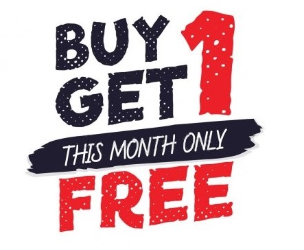 Акция!!! Buy one get one FREE!
