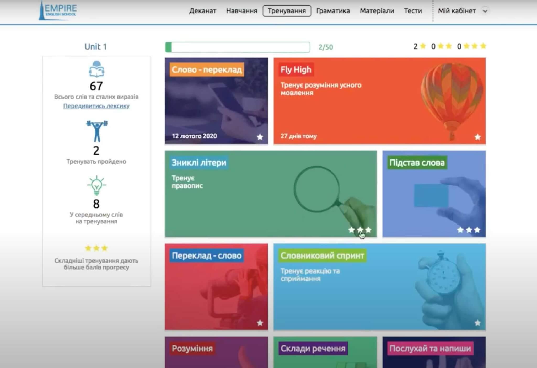 Онлайн платформа iStudy
